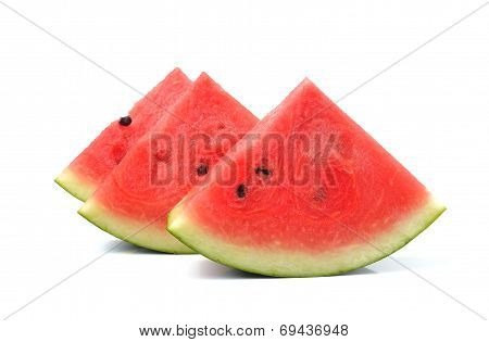 Watermelon Islice isolated On White Background
