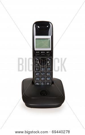Black Cordless Telephone
