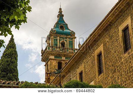 Valldemossa Charterhouse in Spain