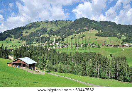 Kleinwalsertal,Hirschegg,Austria