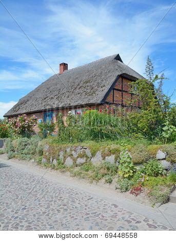 traditional House,Ruegen island,Germany