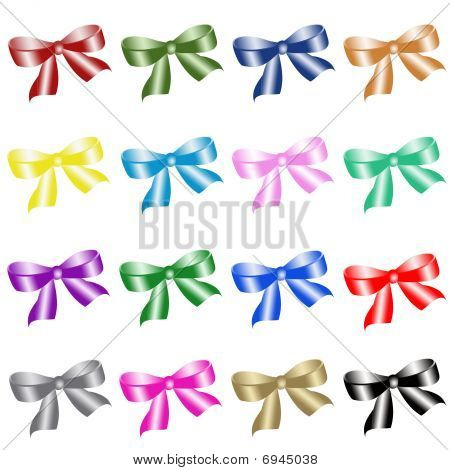 Colour bows