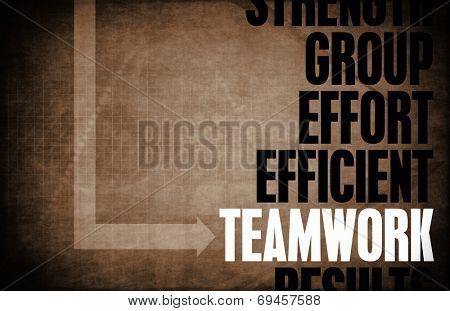 Teamwork Core Principles as a Concept Abstract