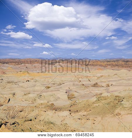 Vale de la luna (Moon Valley) National park.