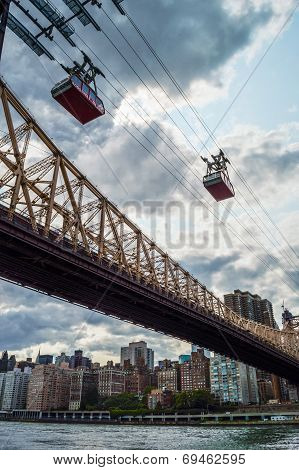 Queensboro Bridge And Tram