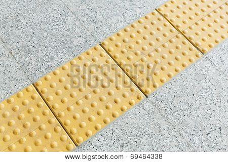 Blind Floor Tiles