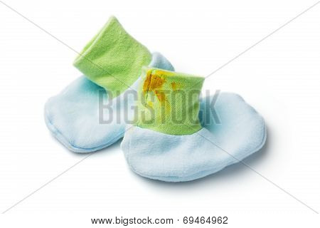 Dirty Baby Socks