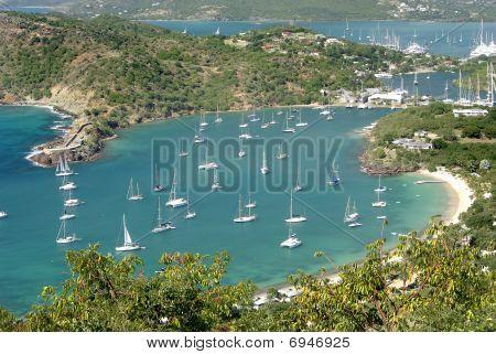 View of Antigua