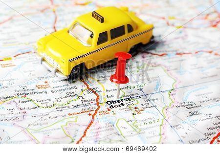 Oberstdorf ,austria Map Taxi