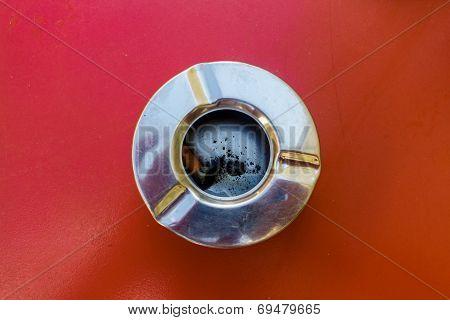 Metallic Ashtray