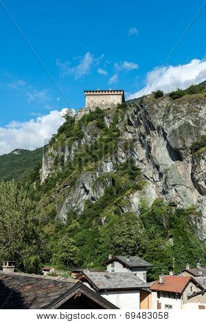 Verres Castle, Aosta Valley (italy)