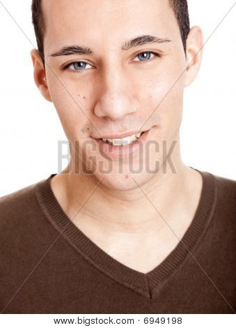 Young Man Smilling