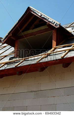roof window construction