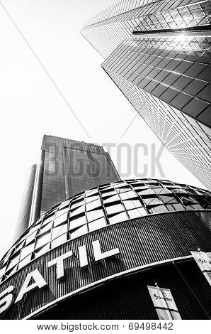 Mexican Stock Exchange Or Bolsa Mexicana De Valores, Mexico City