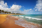 Exotic Beach In Punta Cana