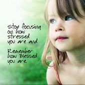 foto of sweet dreams  - Adorable little girl with quote - JPG
