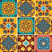pic of ceramic tile  - Traditional ceramic tiles patterns  - JPG