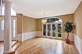 stock photo of tree house  - Luxury house interior - JPG