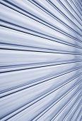 pic of roller shutter door  - Perspective of rolling door or shutter door pattern  - JPG