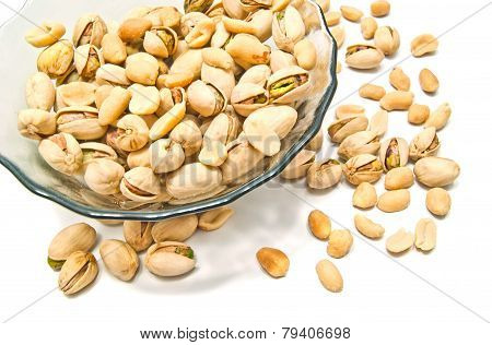 Tasty Peanuts And Pistachios