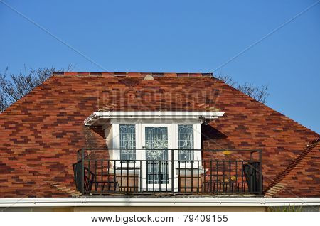 Window and veranda