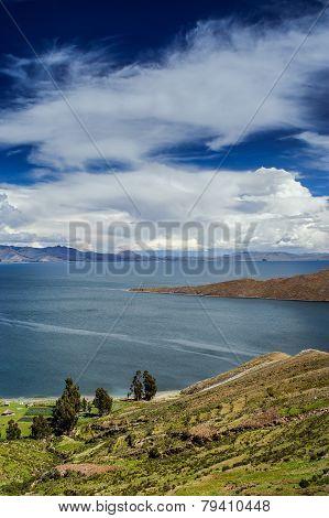 Isla Del Sol. Island of the Sun. Bolivia.