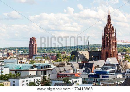 Saint Catharine's Church In Frankfurt