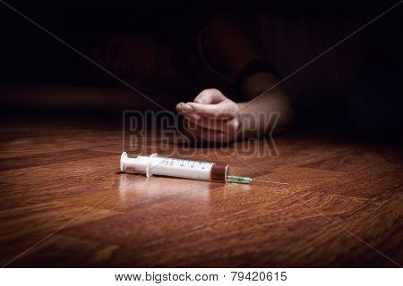 Syringe With Drugs