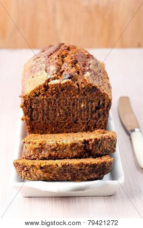 Date And Walnut Tea Loaf