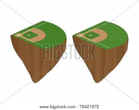 Baseball Fields Floating Islands