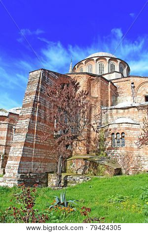Church Of The Holy Savior In Chora. Second Name Of It Now Is The Kariye Museum In Istanbul, Turkey