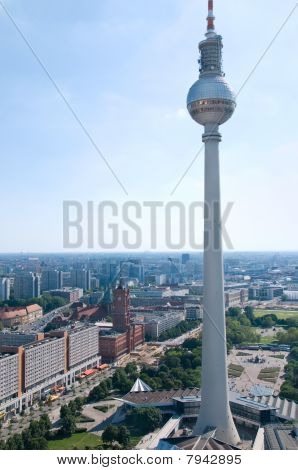 Berlin Skyline Television Tower