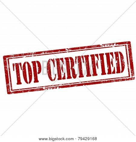 Top Certified-stamp