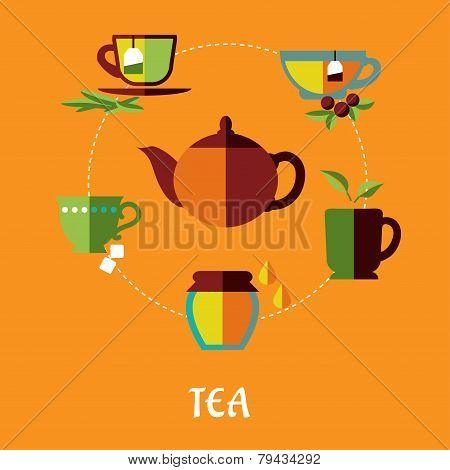 Tea flat concept