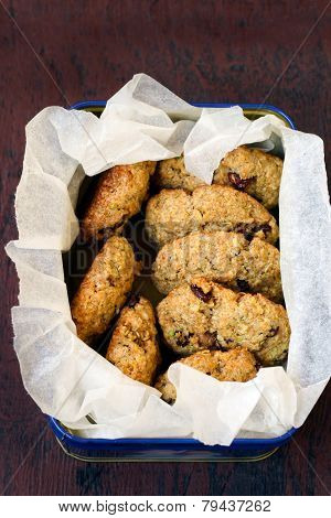Whole Wheat Rosemary Cookies