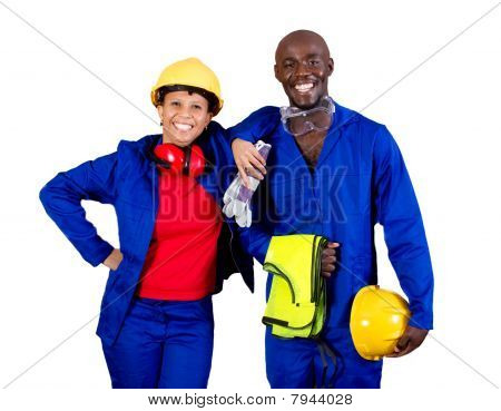 african industrial workers