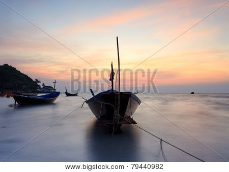 The fishing boat , Thailand