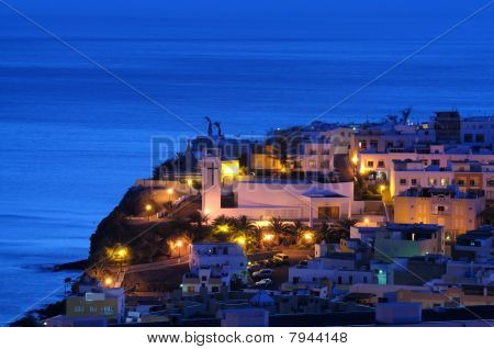 Morro Jable At Night, Fuerteventura