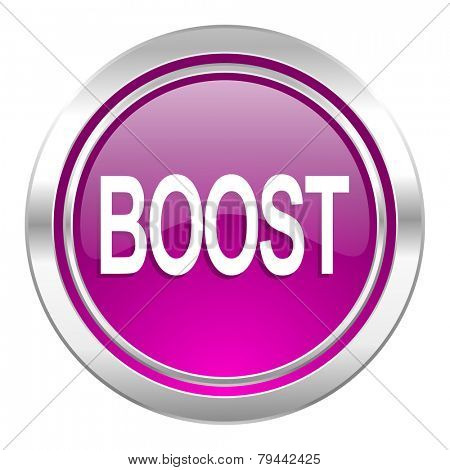 boost violet icon