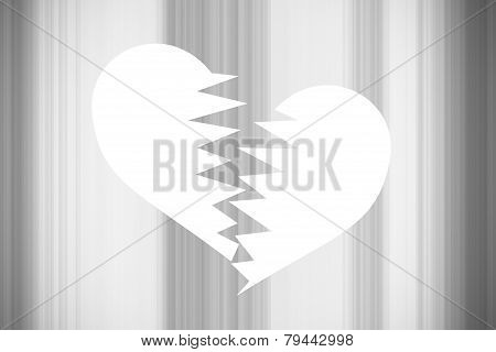 Black Valentine Background, With Black And White Vertical Lines