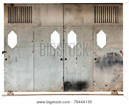 Old Sliding Door