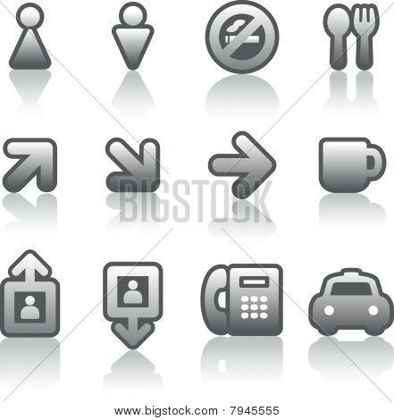 Useful Vector Icons Set