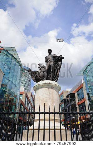 Lord Nelson statue, Birmingham.