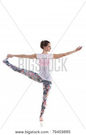 Yoga Pose Utthita Hasta Padangushthasana