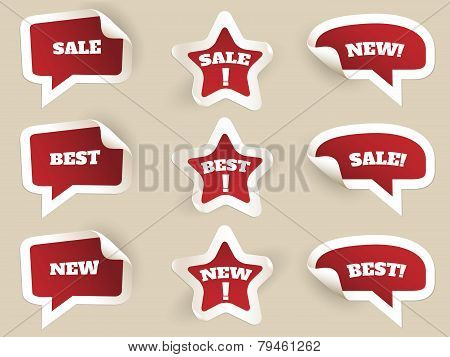 Red Labels. New, best and sale