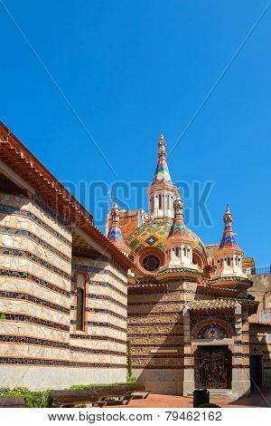 Church In Lloret De Mar. Spain