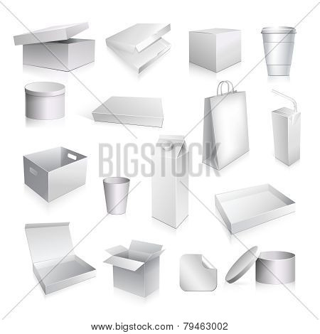 Packaging Set Blank