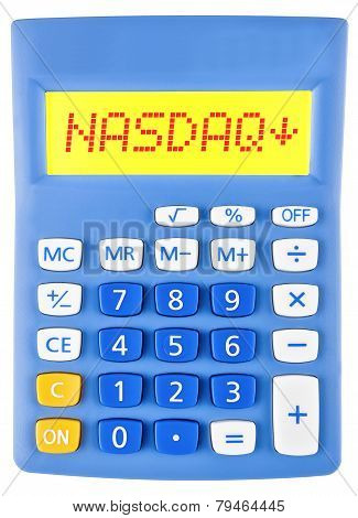 Calculator With Nasdaq