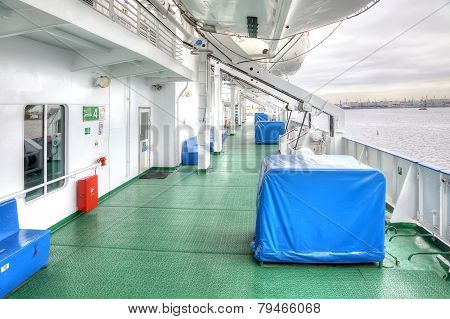 On A Cruise Liner
