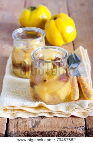 Quince And Raisin Compote